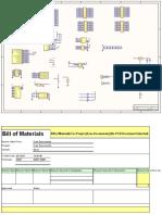 EP2C5T144 Altera Cyclone II FPGA Development Board Diagram