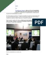 SOSTENIBILIDAD AMBIENTAL  - EL TIEMPO-