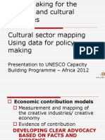Avril Joffe Cultural sector mapping and data.ppt
