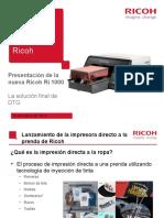 Ricoh Ri 1000 Presentation_ESP