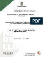 Secretaria de Educación de Medellín.