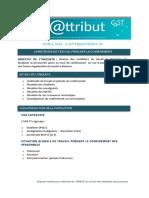 Conditions de travail au CoST d'Orléans pendant le confinement - sondage 2020