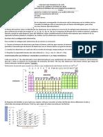 TALLER DE QUÍMICA.CONFIGURACION ELECTRONICA.SEPTIMO.IIP.2020