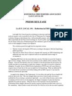 IAFF Local 191 Response April 21, 2020
