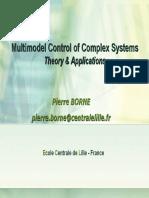 Contrôle Multi Modèle Pour Des Applications Temps Réel PB