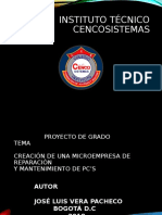 INSTITUTO TÉCNICO CENCOSISTEMAS 10.pptx