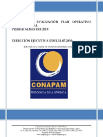 Informe POI I Semestre Jun-2019