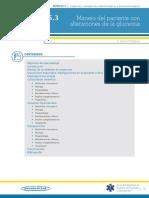 Manejo del paciente con alteraciones de la glucemia (E. Álvarez Rodríguez)
