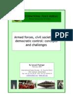 Armed Forces, Civil Societies & Democratic Control