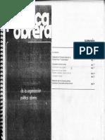 Política Obrera, Resoluciones del 1º Congreso Nacional de PO (enero-febrero 1976)