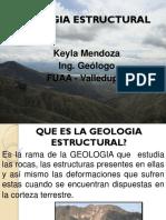 CLASE 6. GEOLOGIA ESTRUCTURAL