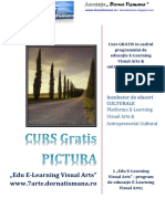 COPERTA Platforma E-Learning Visual Arts 7Arte 2020