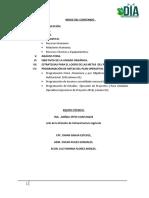 plan operativo institucional 2016 - division agricola