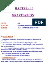 final gravitation