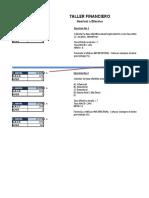 TALLER FINANCIERO- Efectiva a Nomina y viceversa 25 Febrero 2020