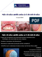 Micologia aplicada à Odontologia