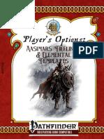 Player's Options - Aasimars, Tieflings, and Elemental Templates.pdf