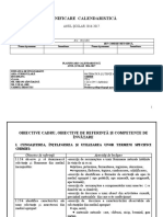 Planificare Chimie VII