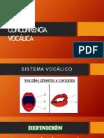 CONCURRENCIA-VOCÁLICA