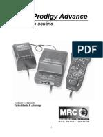 Manual do DCC MRC Prodigy Advance em Português