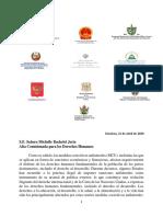 Carta Conjunta Dirigida a La Alta Comisionada DDHH Fechada 21-04-2020 ESP 2