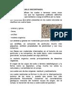 TIPOS DE SUELO EN LA CONSTRUCCION