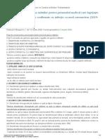 recomandari CoVid Monitorul Oficial