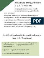 Propagação de erro Gaussiano-e