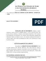EXONERAÇÃO DE ALIMENTOS-
