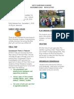 WWA Newsletter - November 2010