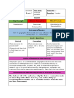 colonial america project unit planner