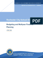 Comptroller's Report on Rochester City School District (April 2020)