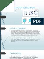 Laboratorio #3 - Estructuras cristalinas