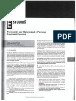 Proteccion por maternidad y permiso postnatal parental (2011) Cifuentes, Arellano, Walker