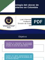 Epidemiología Cancer cuello uterino (1)