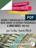 El gasto público social venezolano durante las gestiones presidenciales de Chávez (1999-2008)
