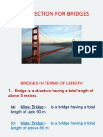 Bridge site selection