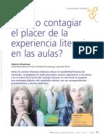 Federico Altamirano - ¿Cómo contagiar el placer de la experiencia literaria?