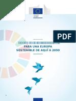 DOCUMENTO DE REFLEXIÓN  PARA UNA EUROPA   SOSTENIBLE DE AQUÍ A 2030