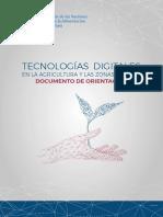 TECNOLOGIAS DIGITALES EN LA AGRICULTURA