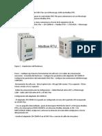 Spanish Configurando el controlador SMC-Flex con el MicroLogix 1100 vía Modbus RTU