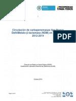 Circulacion NDM Colombia 2012-2014