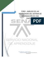 Foro - Análisis de las necesidades del sistema de información de una empresa.pdf