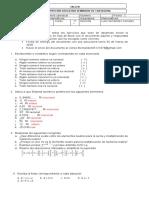 trabajo de matematicas