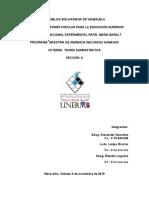 Evolución de la Práctica y el Pensamiento Administrativo en los Siglos XX – XXI