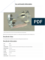 Beryllonite Value, Price, and Jewelry Information - Gem Society