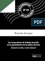 Las cooperativas de trabajo asociado en el sector de la palma africana