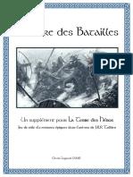 La Terre des Héros - Supplément - Le Livre des Batailles (2008)
