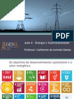 Desafios da Política Energética - Aula 4