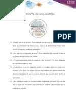FASE 1 PRE-TAREA ACTIVIDAD INDIVIDUAL 2 ANEXO 2 CUESTIONARIO DE PRE-SABERES SOBRE LECTURA CRITICA LECTURA CRITICA.docx
